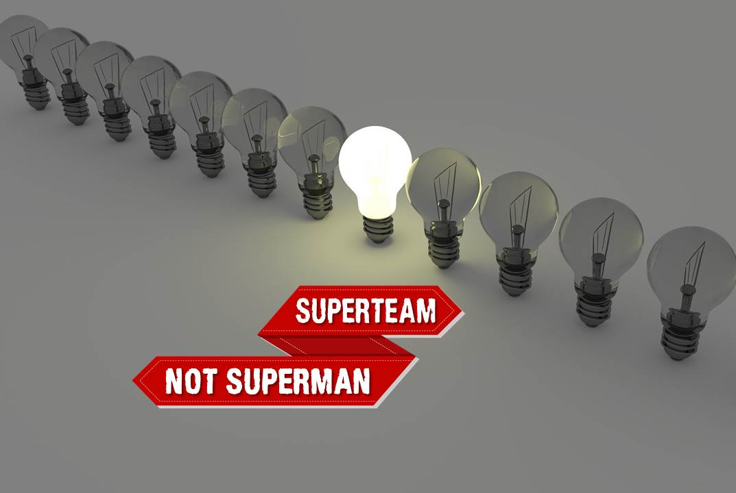 Leadership Membentuk Superteam Bukan Superman